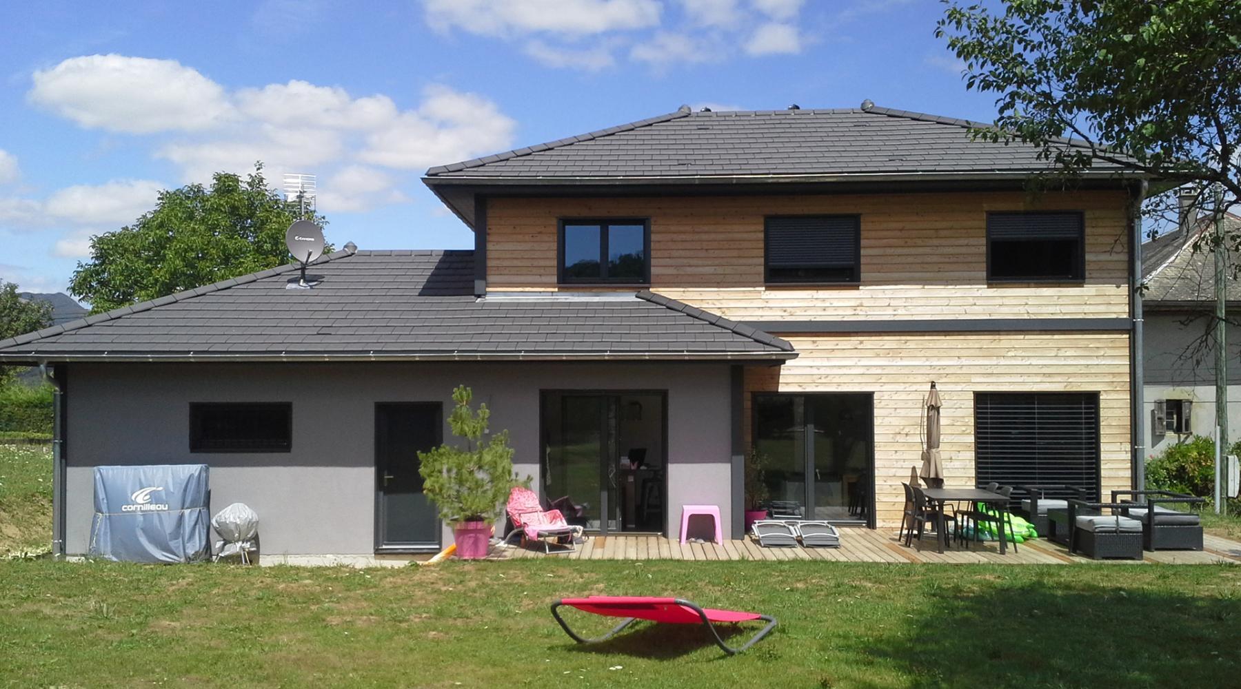 Maison En Bois Annecy projet cécile maison ossature bois - roch construction