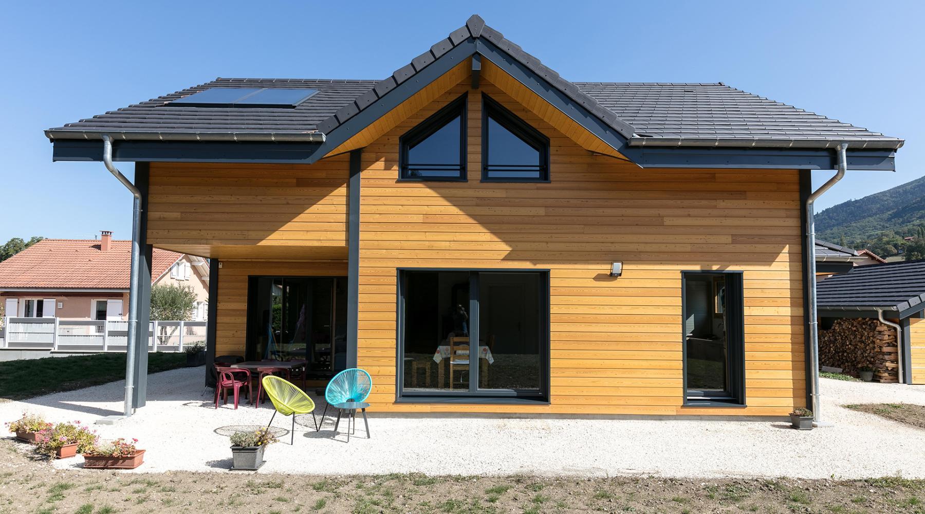 Maison En Bois Annecy projet lucile maison ossature bois - roch construction