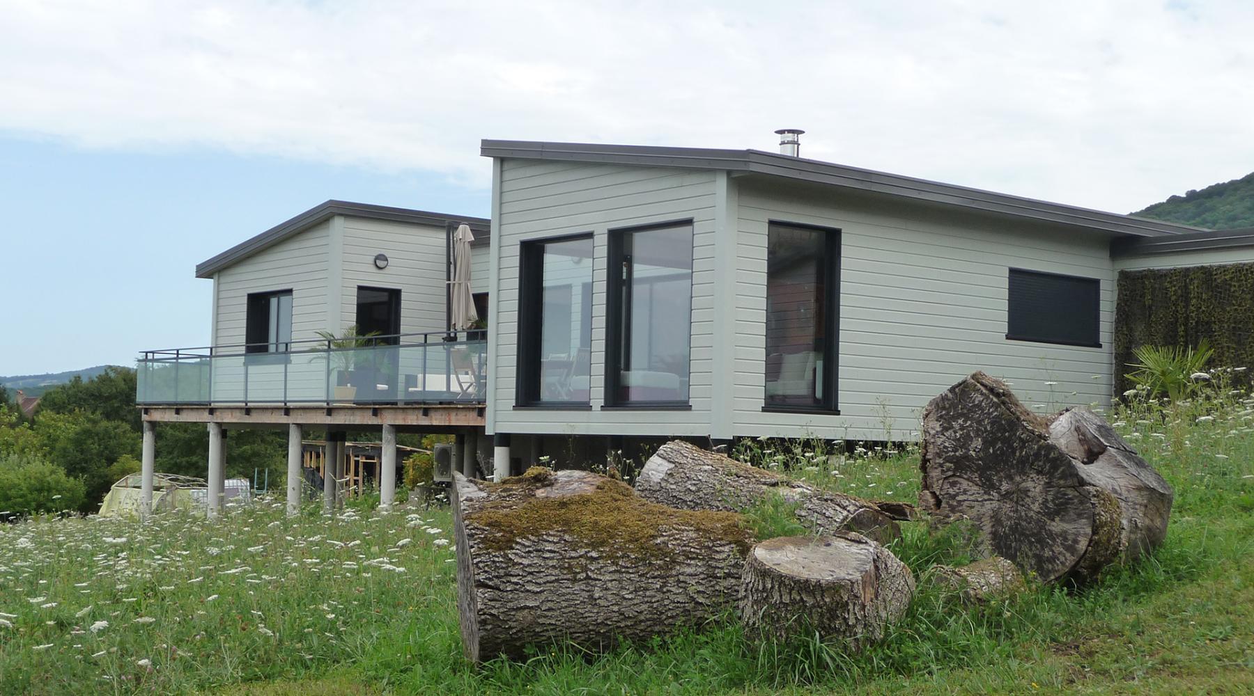 Constructeur Maison Ossature Bois 76 projet pascaline maison ossature bois - roch construction