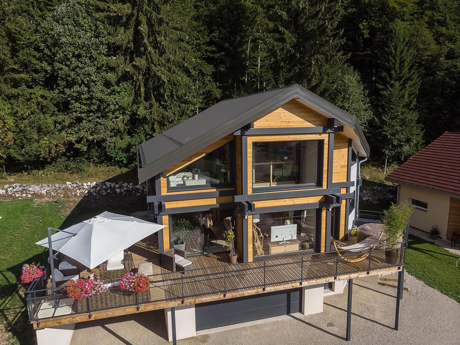 100 Fantastique Idées Constructeur Maison Bois Jura